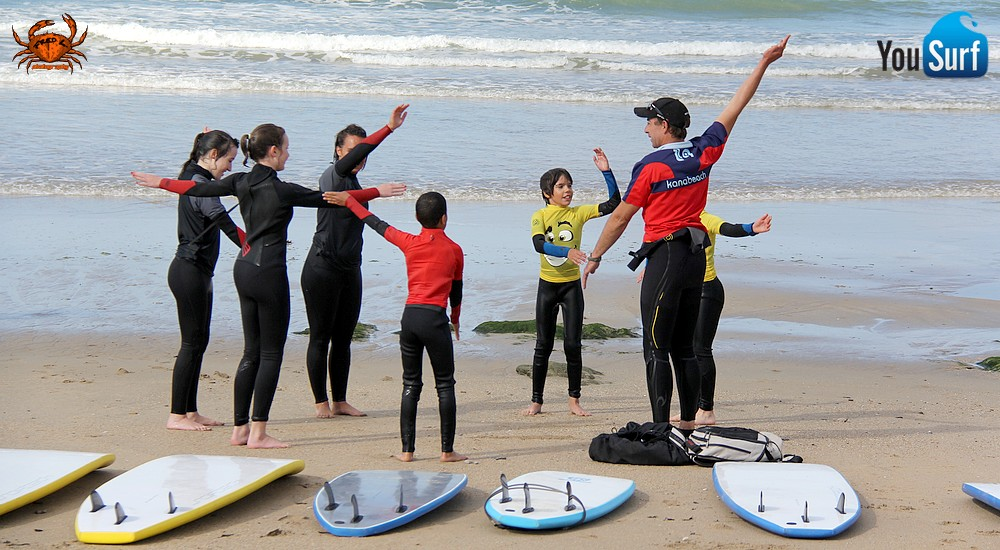 cours surf guidel